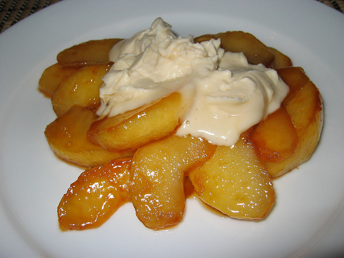 Caramelized Apple with Maple Mascarpone