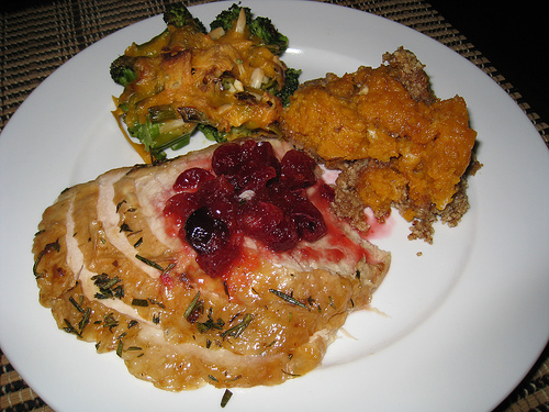 Thyme and Rosemary Roasted Turkey Breast
