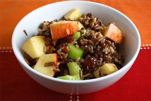 Apple Wild Rice Salad
