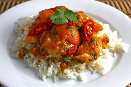 Apricot Chicken Curry