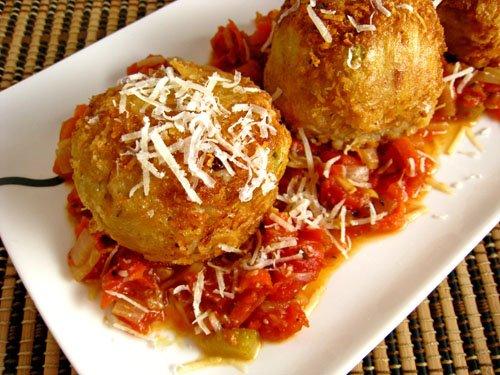 Arancini di Riso (Rice Balls)