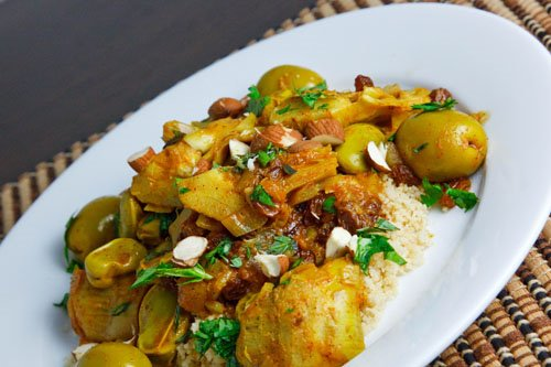 Artichoke and Fava Bean Tagine