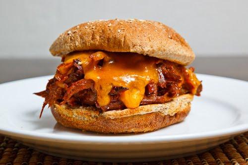 BBQ Roast Beef and Cheddar Sandwich