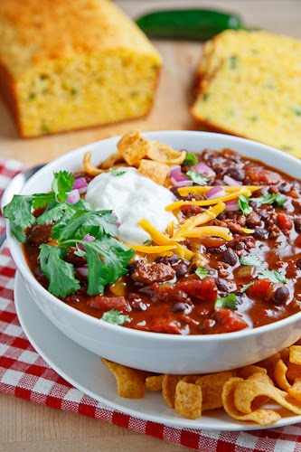 Beef and Black Bean Chili