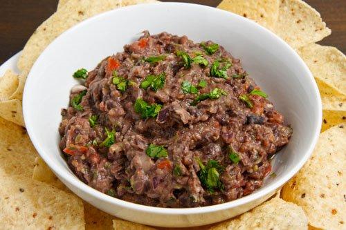 Black Bean Guacamole