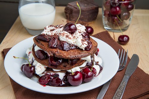 Black Forest Pancakes