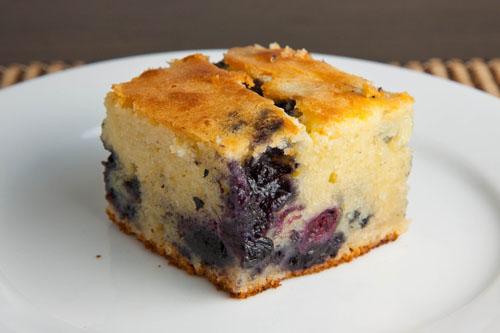 Blueberry Mochi Cake
