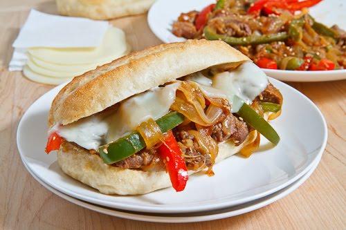 Bulgogi Cheesesteak Sandwich