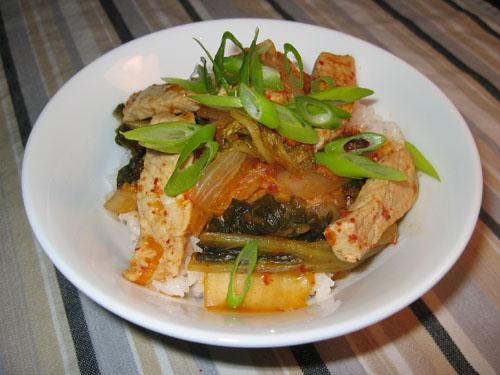 Buta Kimchi Donburi