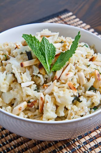 Curried Cauliflower Rice