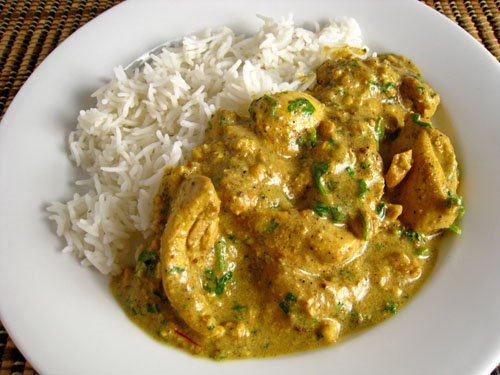 Chicken and Cashew Curry