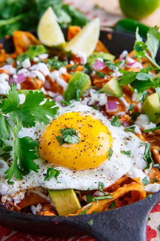 Chicken Enchilada Chilaquiles