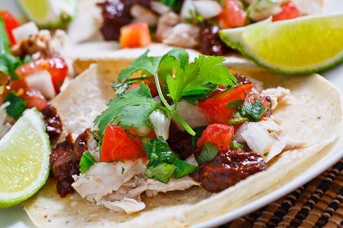 Chicken Mole Tacos