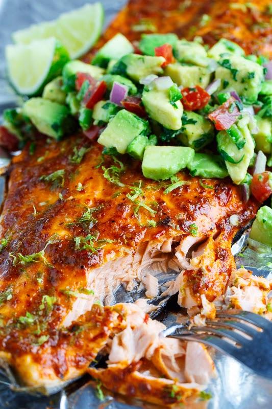 Chipotle Lime Salmon