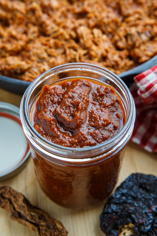 Chipotle and Ancho Cocoa Enchilada Sauce