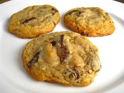Chocolate Chunk and Pecan Cookies