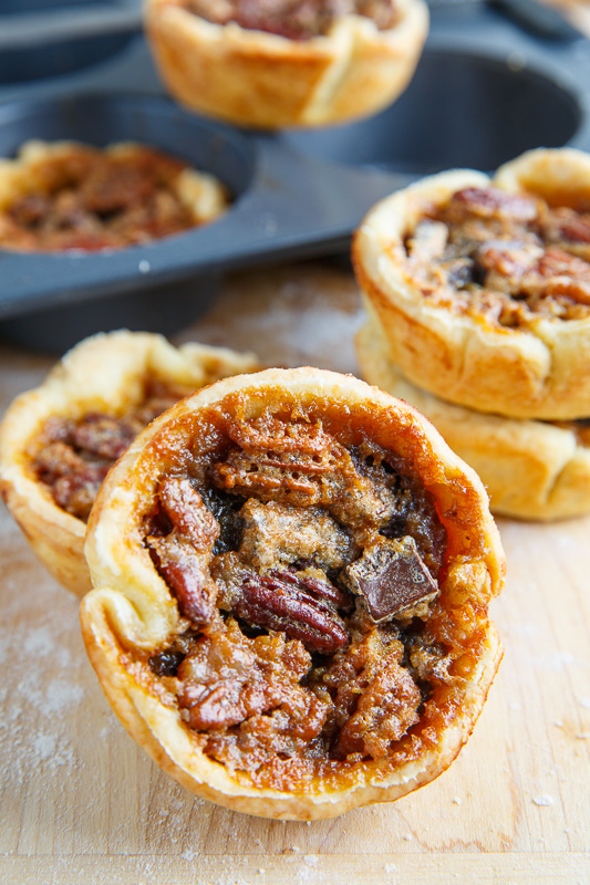 Chocolate and Pecan Butter Tarts