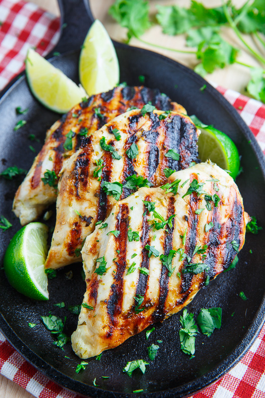 Cilantro Lime Grilled Chicken