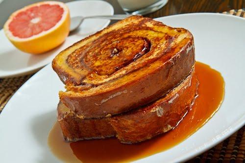 Cinnamon Swirl French Toast