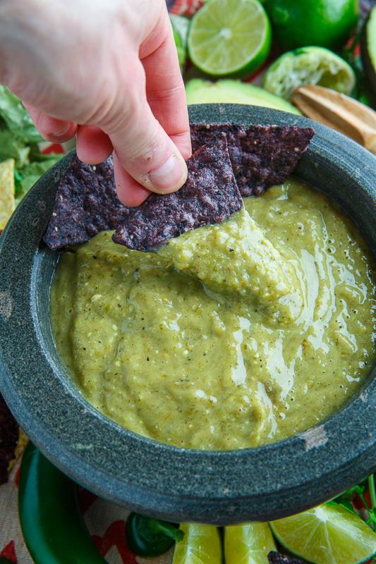 Creamy Avocado Salsa Verde