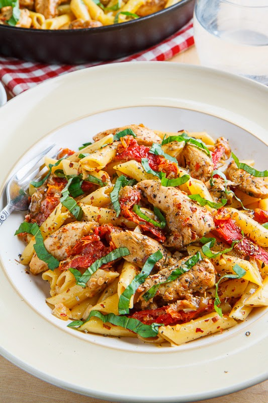 Creamy Chicken and Sundried Tomato Pasta
