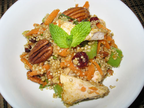 Curried Turkey and Quinoa Salad