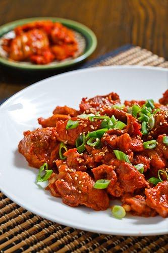 Daeji Bulgogi (Korean Spicy BBQ Pork)