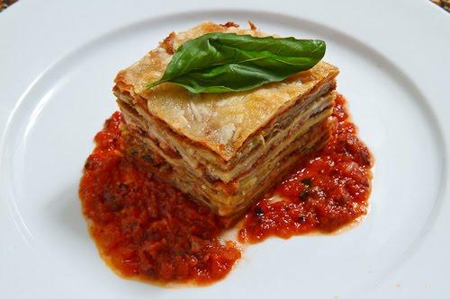 Eggplant Parmesan (Lasagna Style)