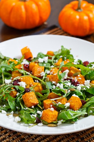 Festive Roast Pumpkin Salad