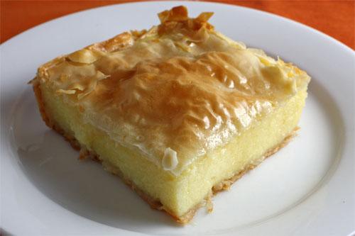 Galaktoboureko (Greek Custard Pie)