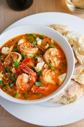 Garides Tourkolimano (Greek Shrimp)