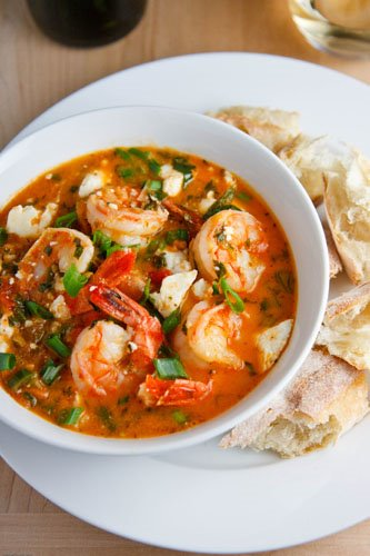 Garides Tourkolimano (Greek Shrimp)