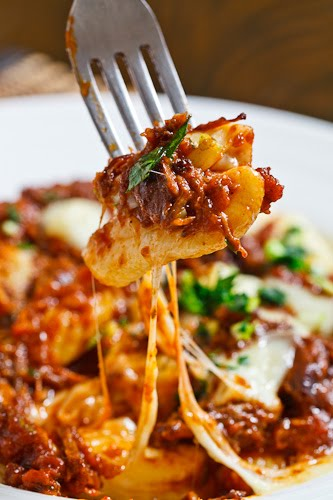 Gnocchi Poutine with Short Rib Ragu