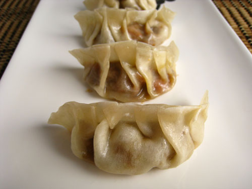 Kare Gyoza (Curry Potstickers)