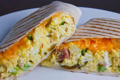 Ham and Egg Burrito