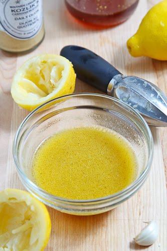 Lemon Honey Dijon Vinaigrette