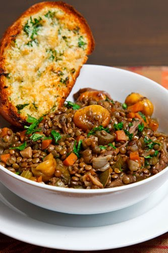 Italian Lentil and Chestnut Stew