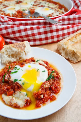 Italian Style Baked Eggs