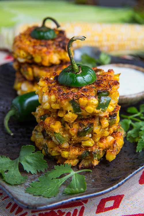 Jalapeno Popper Corn Fritters