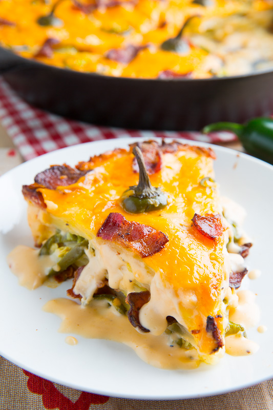 Jalapeno Popper Potato Gratin
