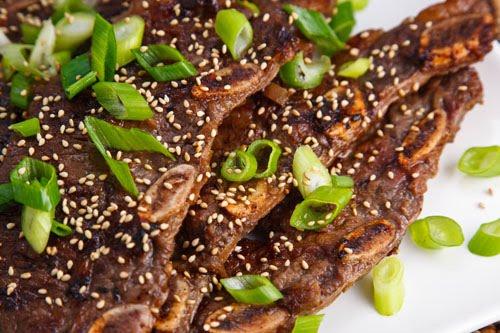 Kalbi (Korean BBQ Short Ribs)