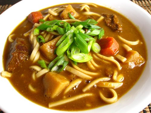 Kare Udon (Curry Udon Soup)