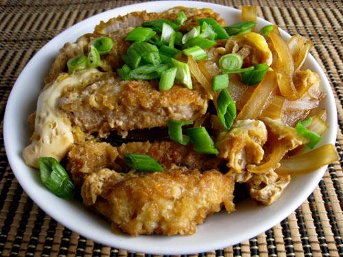 Katsudon (Pork Cutlet Rice Bowl)