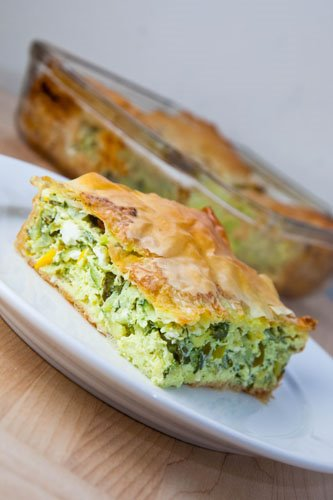 Kolokithopita (Greek Zucchini Pie)