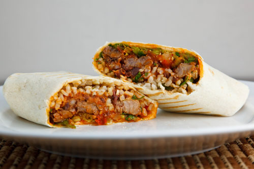 Korean Short Rib Burritos