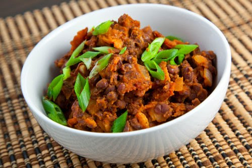 Korean Style Refried Beans