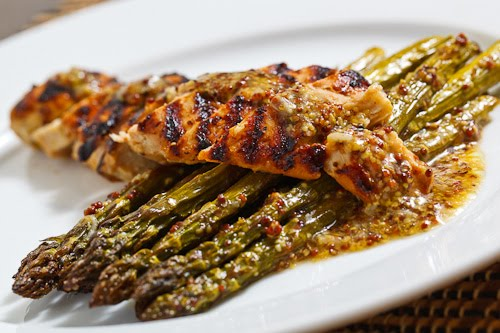 Maple Dijon Grilled Chicken