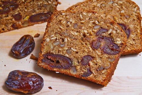 Medjool Date and Walnut Bread