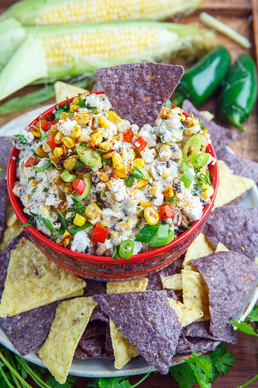Mexican Corn Salad Dip