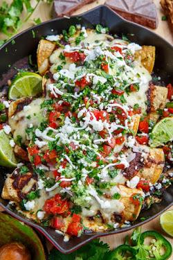 Mexican Shredded Beef Enchiladas